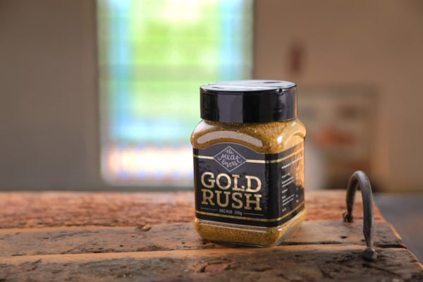 BBQ Rub Gold Rush The Meatlovers